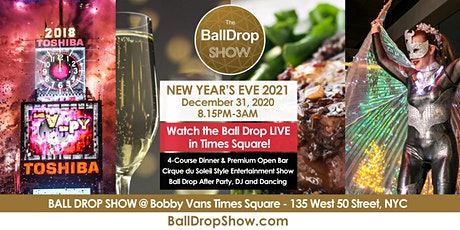 BALL DROP SHOW New Year's Eve 2021 - LIVE Ball Drop View & Show - Dec 31, 2020 tickets