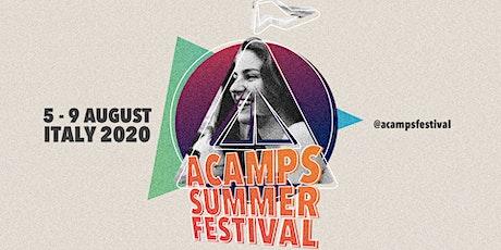 Acamps Summer Festival ROMA 2020 biglietti
