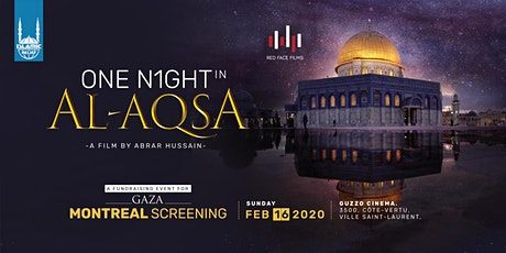 One Night in Al-Aqsa Film Screening · Montreal billets