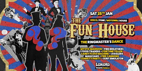 The Fun House: The Ringmaster's Dance! tickets