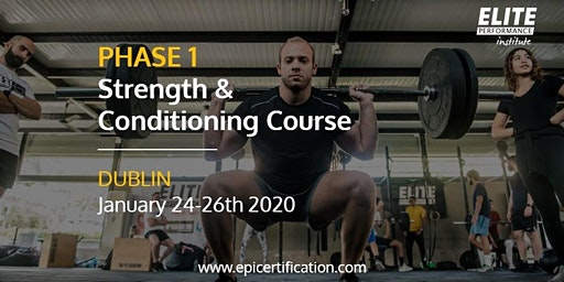 EPI Phase 1 Strength & Conditioning Course | Dublin