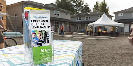 Habitat Homeownership Info Session - Comox Valley