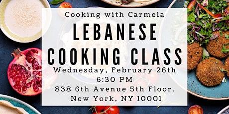 Lebanese Cooking Class tickets