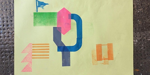 Young person's Screen Printing Map Workshop