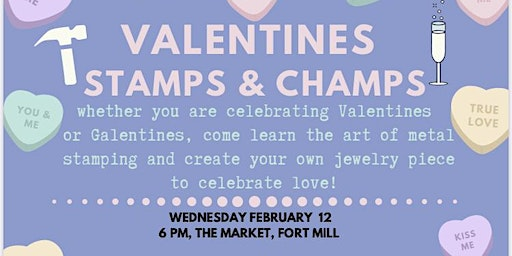 Valentines Stamps & Champs