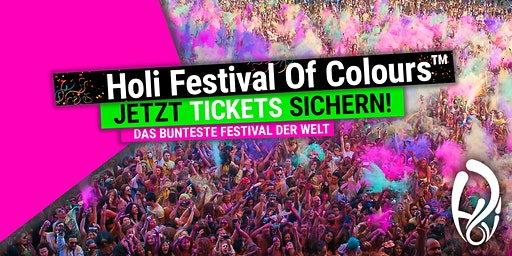 HOLI FESTIVAL OF COLOURS KARLSRUHE 2020