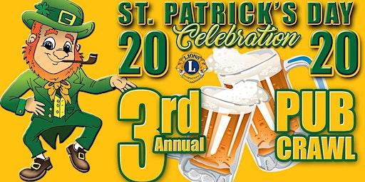 St. Patrick's Day 2020 Pub Crawl presented by The Sedalia Lions Club