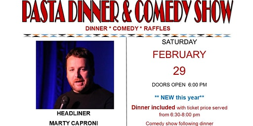 Pasta Dinner and Comedy Show