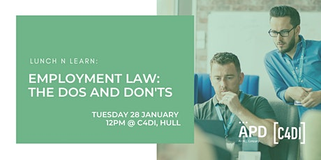 LunchNLearn: Employment Law - The Dos and Don'ts with APD tickets