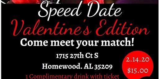 Speed Date Valentine's Edition