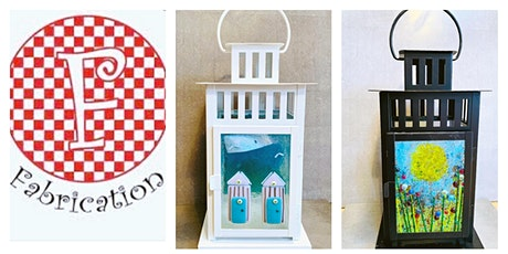 Fused glass Lantern workshop at FABRICATION LEEDS  Saturday 23rd  May 2-4pm   tickets