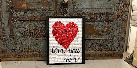 Button Art Heart tickets