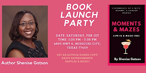 Moments & Mazes Book Launch Party