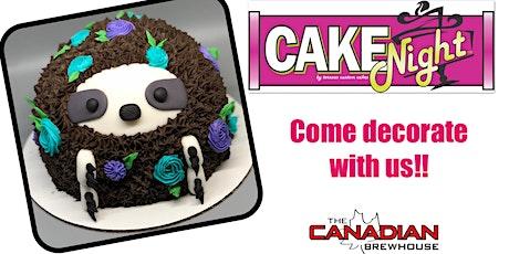 CakeNight - Ellerslie - Sloth Cake tickets