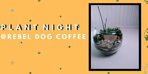Create Your Own Coffee Love Terrarium- PlantHer Plant Night @ Rebel Dog