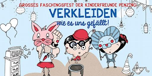 Faschingsfest der Kinderfreunde Penzing