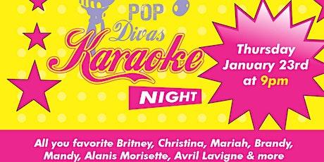 Pop Divas Karaoke Night tickets