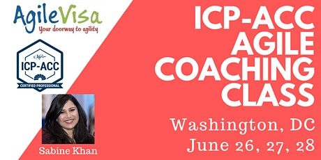 ICAgile ICP-ACC Agile Coach Certification Workshop - Washington DC tickets