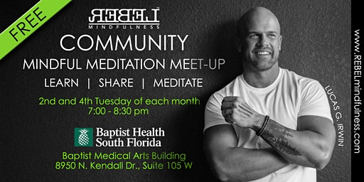 Mindful Meditation Meet-Up with Lucas G. Irwin