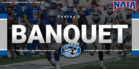 University of Saint Francis Football Banquet tickets