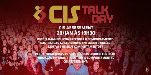 [BELO HORIZONTE/MG] Cis Talk Day- Cis Assessment - 28 de Janeiro