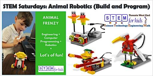 STEM Saturday Programs: Animal Robotics For Children Age 4-6