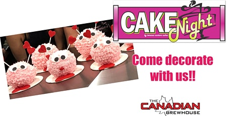 CakeNight - Leduc - Valentine's Love Bug Cake tickets