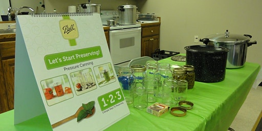 Pressure Canning - A Think Green Food Preservation Saturday Session