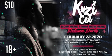 """Kuzi Cee """"Now Here from NowHere"""" EP Release Party (18+) tickets"""
