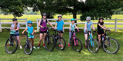 Mountain Bike Camp for Girls (ages 10-14)  Intermediate Session: June 25-26