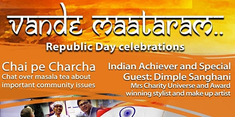 FREE - Vande Maataram: India Republic Day Celebrations tickets