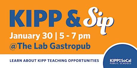 KIPP & Sip Networking Happy Hour tickets