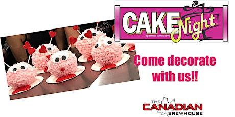 CakeNight - Fort Saskatchewan - Valentine's Love Bug tickets