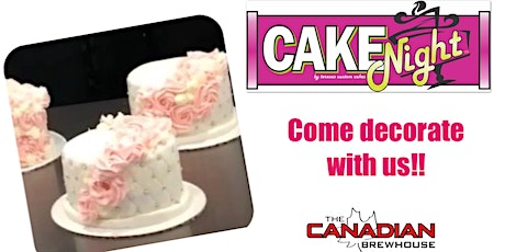 CakeNight - St.Albert - Quilted Cake with Rosettes tickets