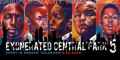 Exonerated Central Park Five Event in Denver tickets