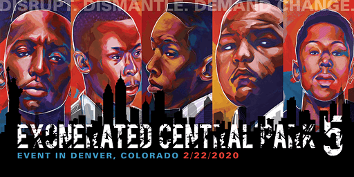 Exonerated Central Park Five Event in Denver