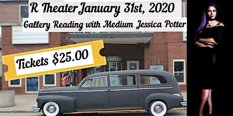 Gallery Reading with Jessica Potter at the R theater tickets