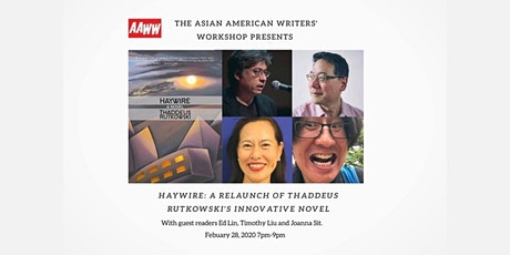Haywire: A Relaunch of Thaddeus Rutkowski's Innovative Novel tickets