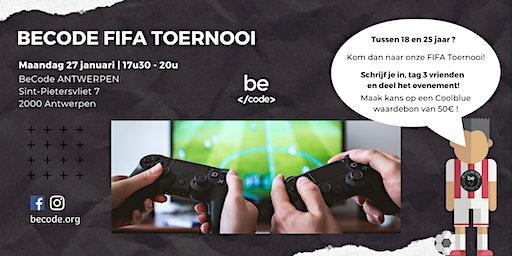 FIFA20 Toernooi @ BeCode