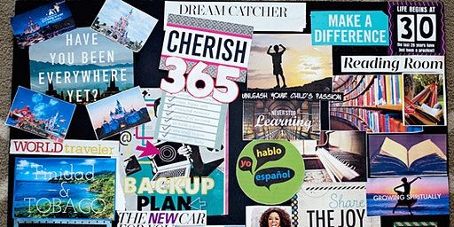 The Curly Crew Vision Board Party