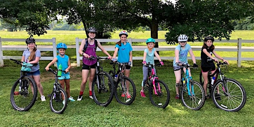 Mountain Bike Camp for Girls (ages 10-14)  Intermediate Session: July 23-24