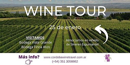 Wine Tour Calamuchita - 25 enero