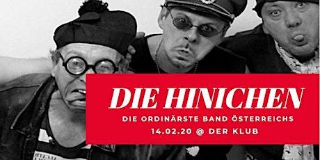 """Die Hinichen // live at """"der Klub"""" Tickets"""