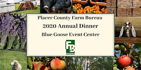 2020 Placer County Farm Bureau Annual Meeting tickets