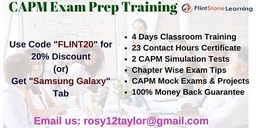 CAPM Training Course in Eugene, OR