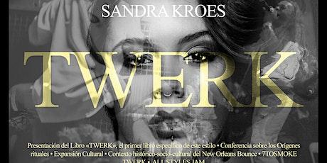 """Presentación del libro """"Twerk"""" entradas"""
