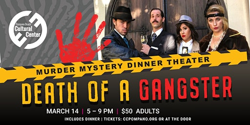 Death of a Gangster - Murder Mystery Dinner Theater