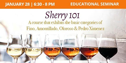 Educational Seminar: Sherry 101