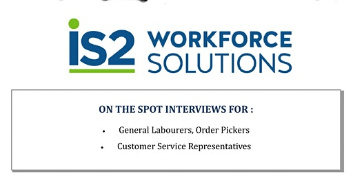 IS2 Workforce Solutions Hiring Event