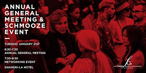 Annual General Meeting & Schmooze